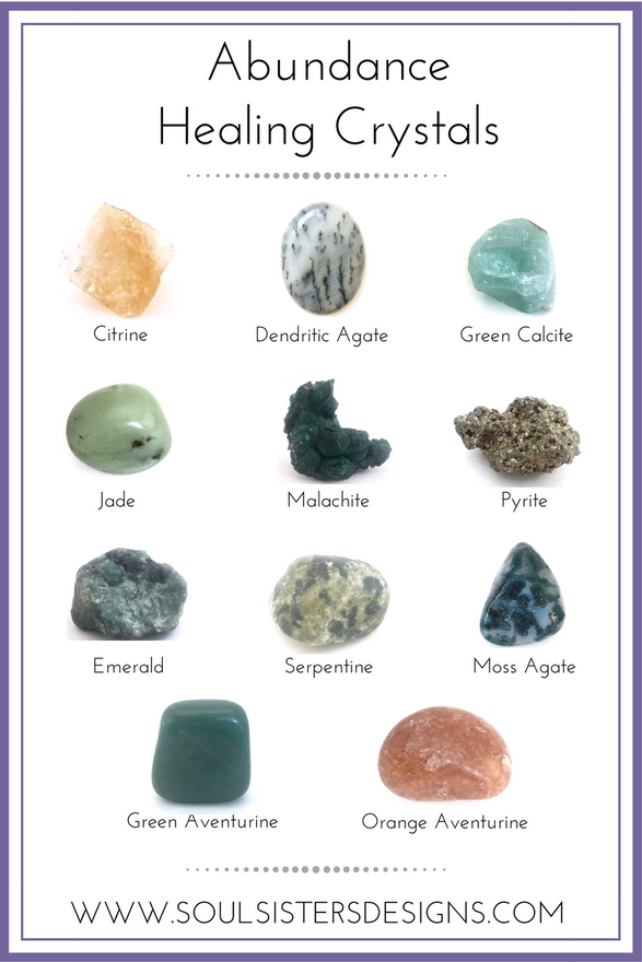 Healing Crystals for Attracting Abundanc