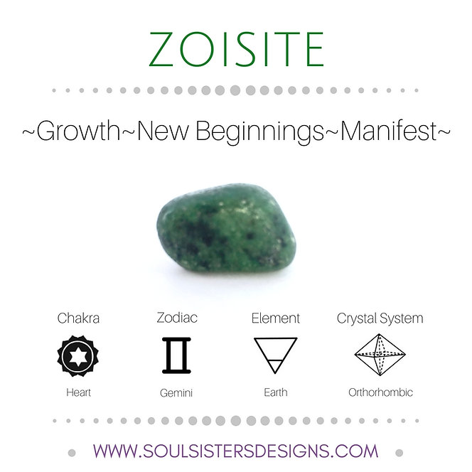 Metaphysical Healing Properties for Zoisite