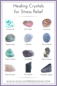 Healing Crystals for stress relief