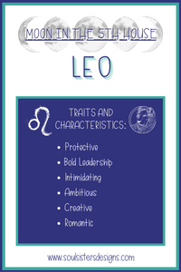 Moon in the 5th House: Leo