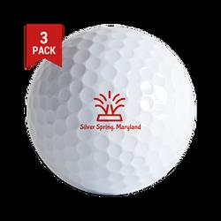 Silver Spring Golf Ball