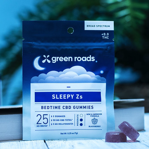 2 CBD Sleepy Z's - 50mg