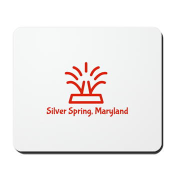Silver Spring Mouse Pad