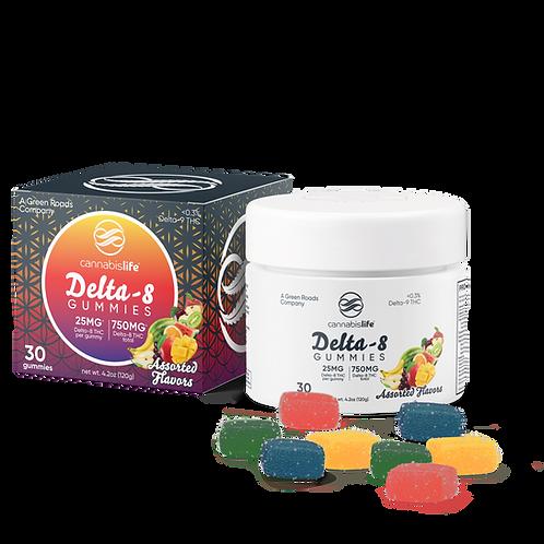 Delta 8 Gummies - 750mg Assorted