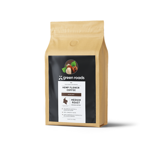 Hemp Flower Coffee - Hazelnut