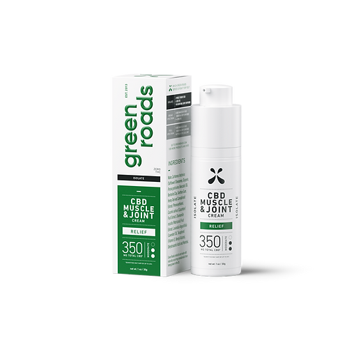 CBD Muscle & Joint Cream 350mg