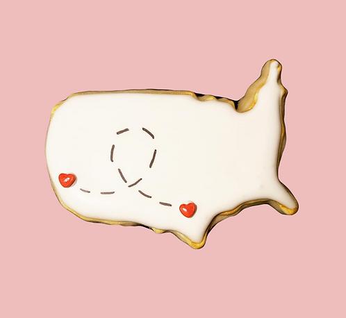 Long Distance Love Cookies
