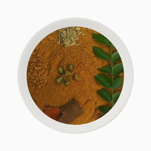 Roasted Coriander Masala Powder (Varutha masala malli podi)