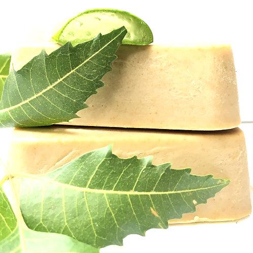 Handmade Neem & Aloe Vera Soap
