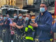 12 - Firemen Applaud