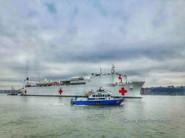 9 - U.S Comfort Ship Arrives