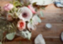 anemone succulent centerpiece