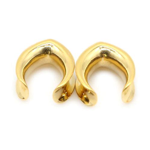 Gold ear saddle