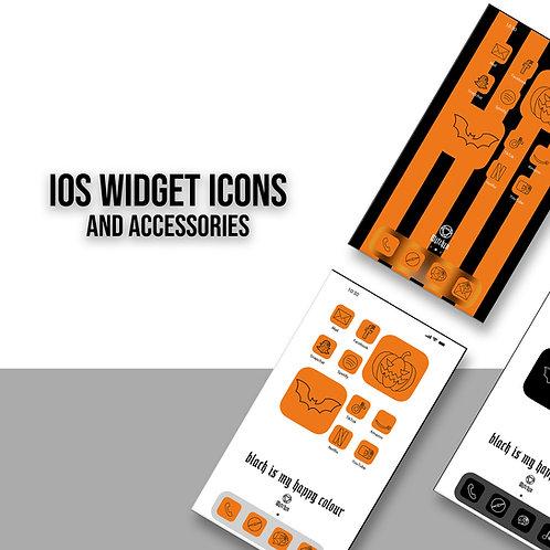 Widget Icons Orange