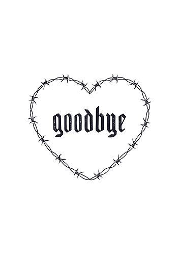 Goodbye Barbwire Heart print