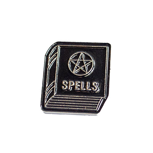 Spell Book Pin