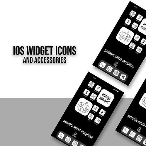 Widget Icons White