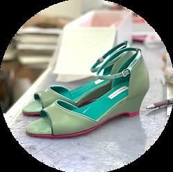 Venice Pistachio Magdalena K Shoes Klash