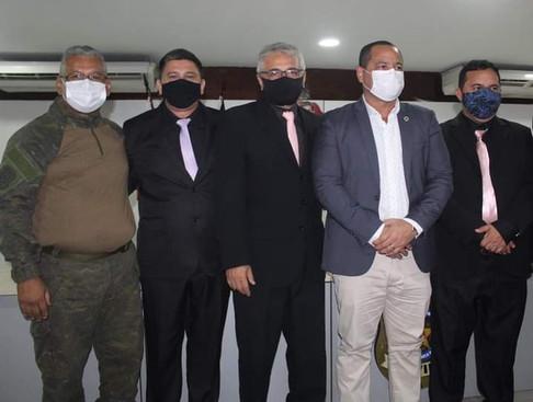 PABLO FARAH representou o SINDPOL na cerimônia da ACADEPOL, dos novos policiais paraense
