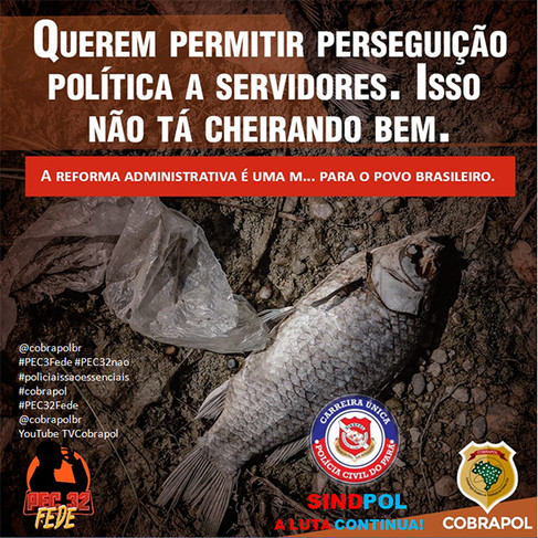 @cobrapolbr#PEC3Fede #PEC32nao#policiaissaoessenciais#cobrapol#PEC32Fede@cobrapolbrYouTube TVC