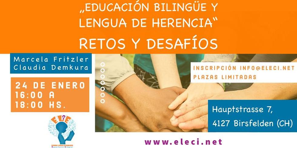 Educación bilingüe y lengua de herencia