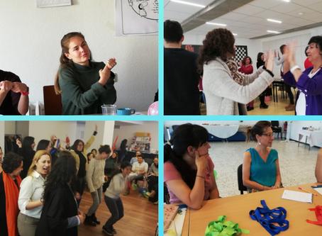 La fórmula para un buen taller: teoría, práctica e interacción.