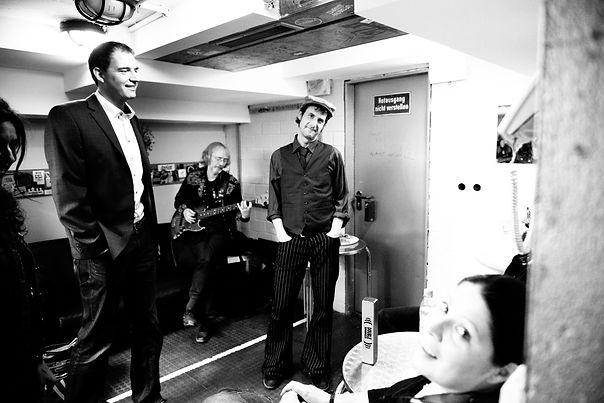 Point & Die Spielverderber Backstage, Fo