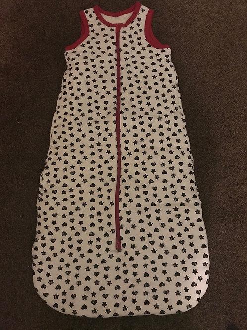Brand new 6- 18 mth girls sleeping bag