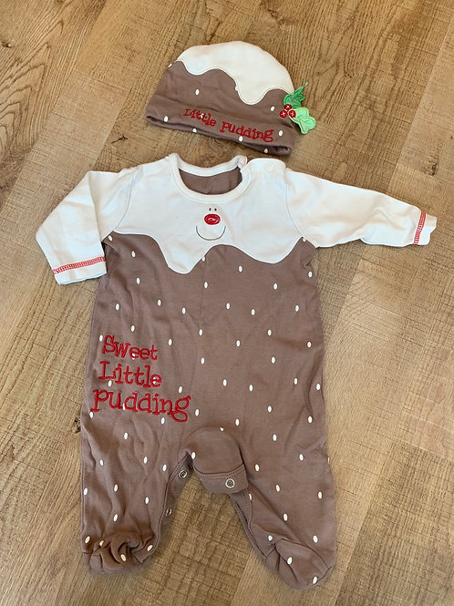 George Christmas outfit 0-3m