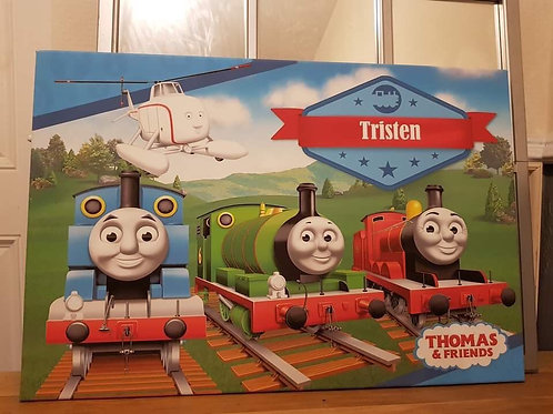 Thomas the tank engine canvas picture  Collection Only BL4