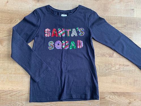 Girls Next Santa Squad Top 8y