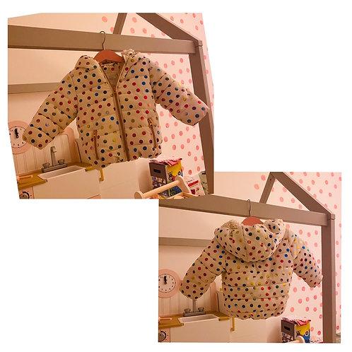 Next polkadot coat 6/9m