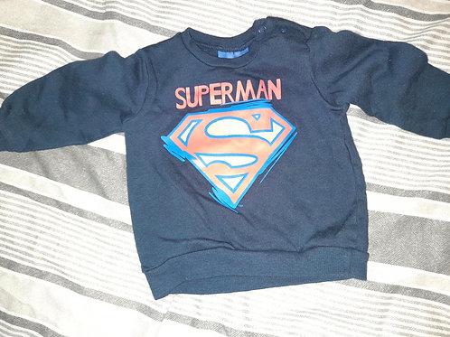 Superman jumper - 3-6m