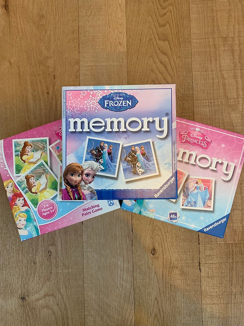 Disney memory and matching games