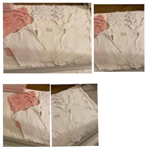 George vests 9x vests 2x strappy vests 12/18m