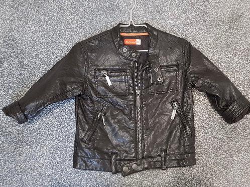 Leather Jacket Ben Sherman - 6-12 months