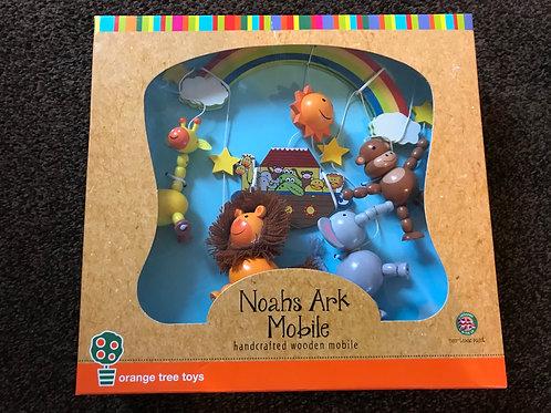 Brand new Noah's Ark wooden mobile