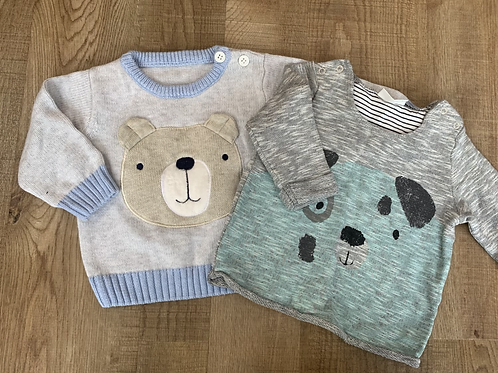 Boys next & TU jumper 0-3m