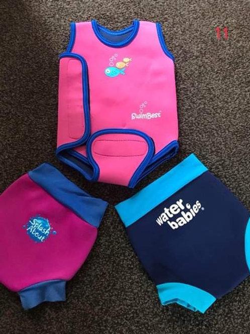 Swim neoprene items 0-6 Mths