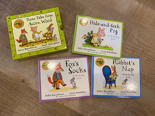 The Tales from Acorn Wood book set