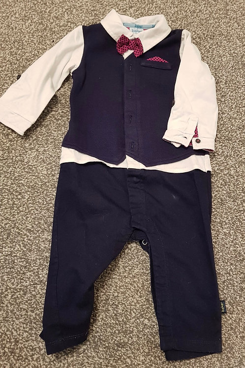 Baby all in one Tuxedo - 9-12m  Ted Baker