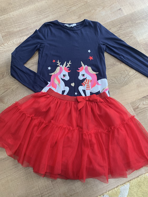 Girls H&M Christmas outfit 6-8y