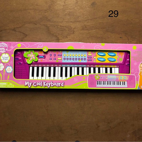 children's keyboard in original box - Collection only BL4
