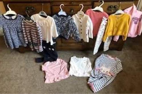 Girls Clothes Bundle 18-24 Liberty for Mamas&Papas, Junior J, JoJoMamanBebe, Ne