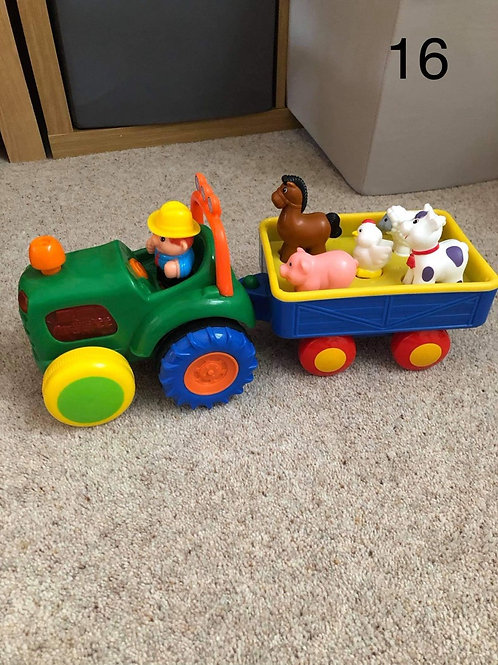 Toy tractorSmyths moving tractor  - Collection Only BL4
