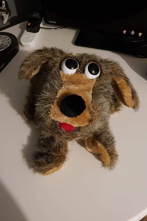 Dog puppet - made by a specialist