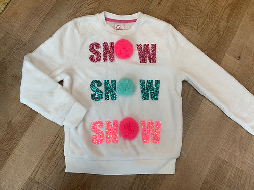 Girls George Christmas jumper 7-8y