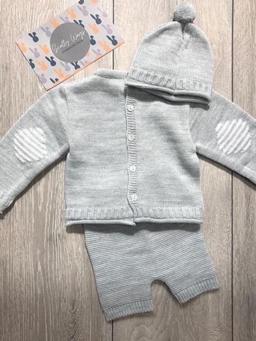 Grey knitwear 3 piece set NEW