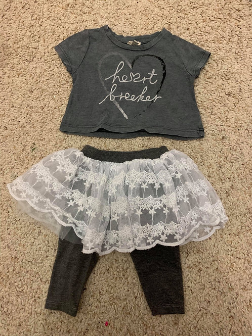 Two Piece Outfit River Island 3-6 Months