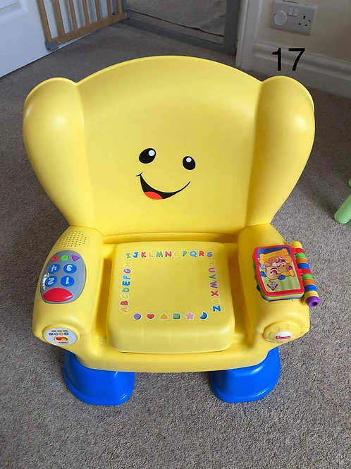 Fisher price laugh and learn activity chair - Collection Only BL4